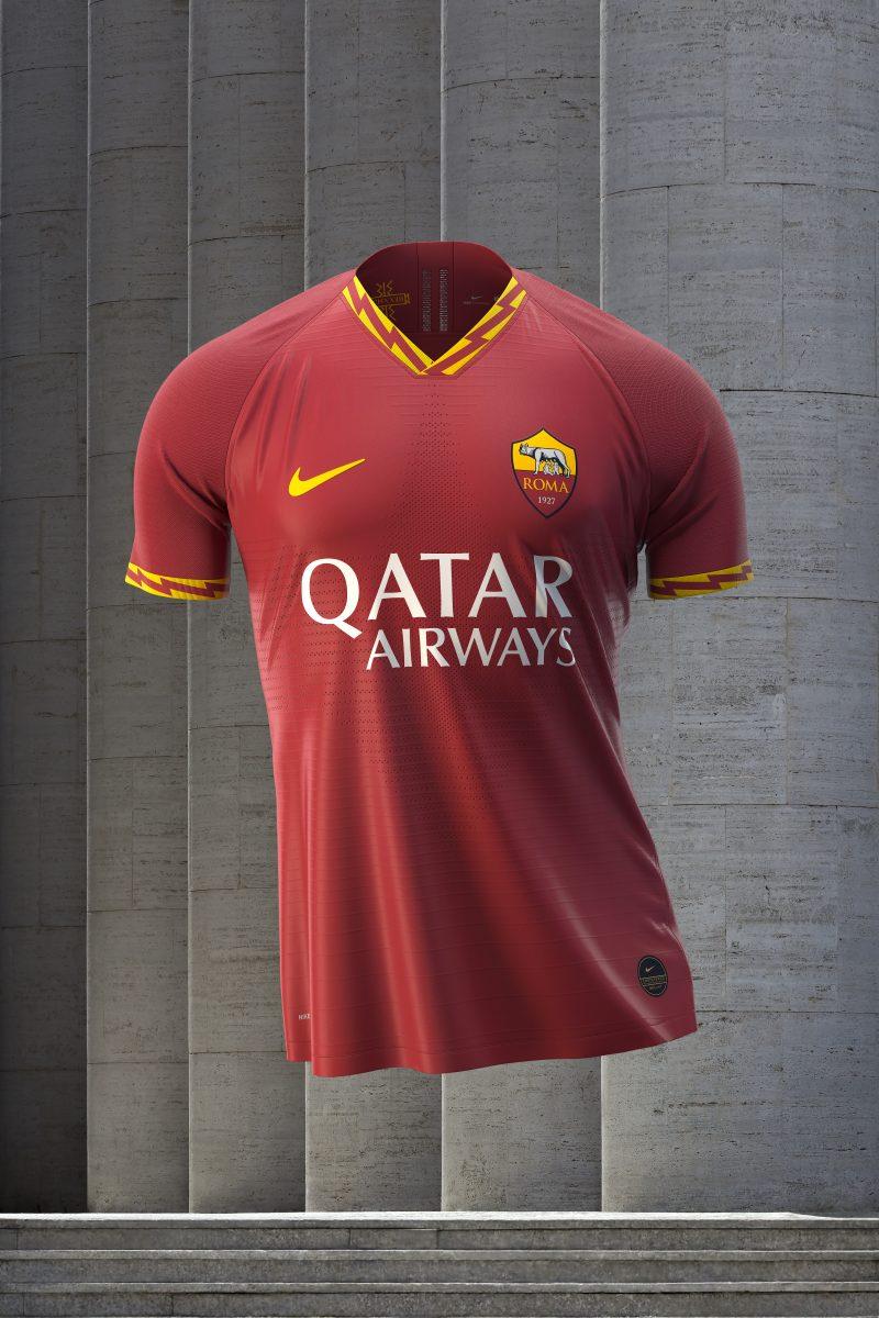 Le maglie Nike della Roma 2019/20