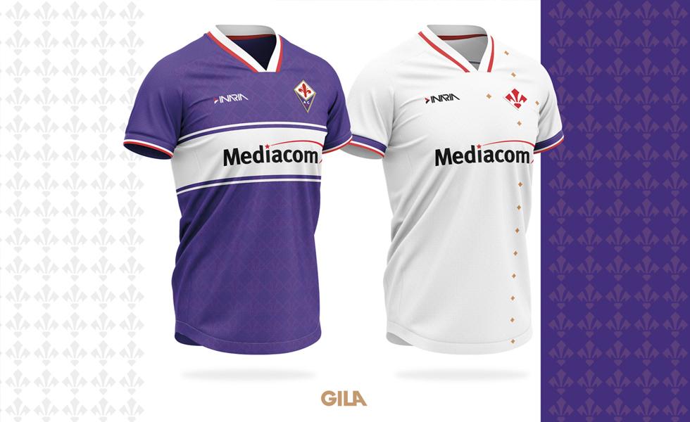 I concept Kit per le maglie della Fiorentina 2019 2020 by Gilafootball