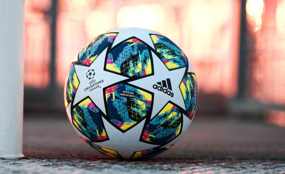 adidas, pallone multicolor per la Champions League 2019/20