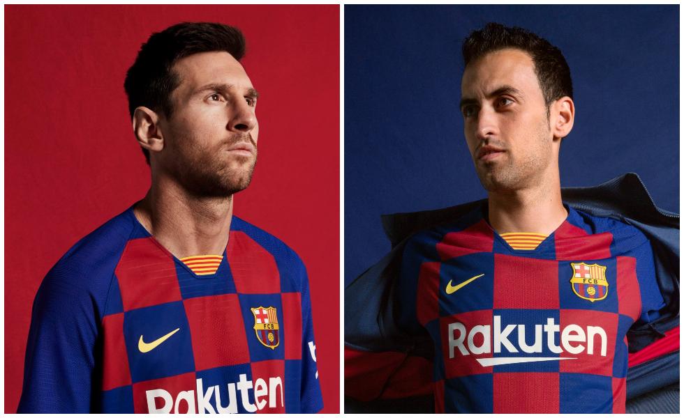 Scacchi matti: le maglie del Barcellona 2019/20