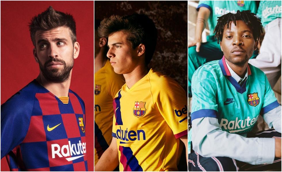 Nike, le maglie del Barcellona 2019/20