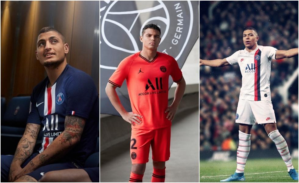 Nike presenta le nuove maglie del PSG 2019/2020