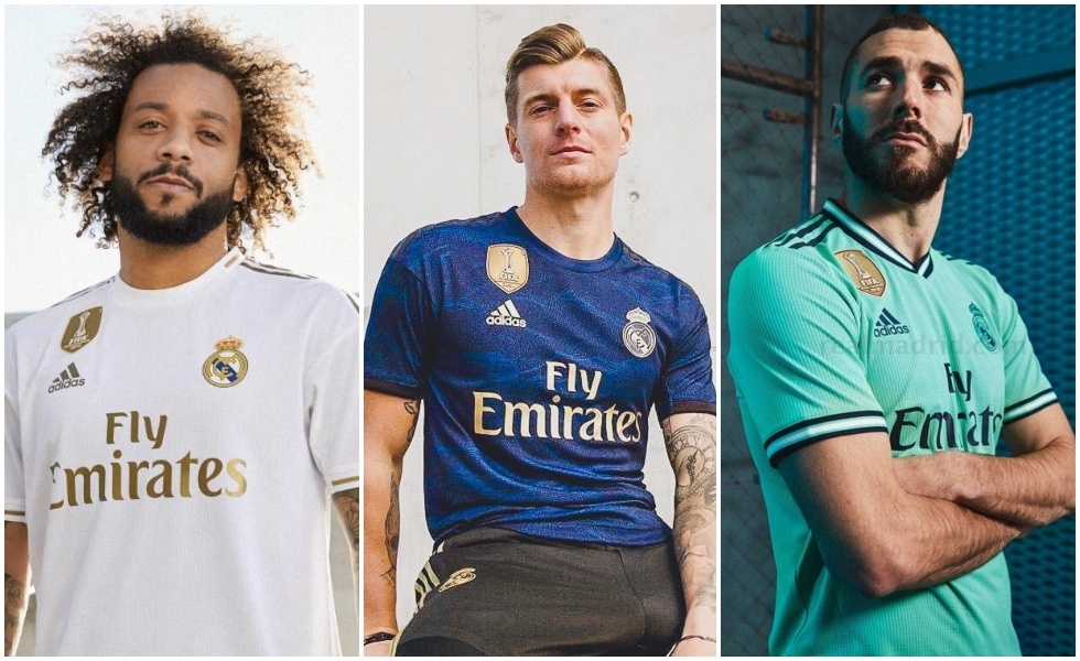 Adidas, le nuove maglie del Real Madrid 2019/20
