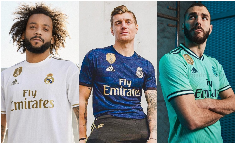 maglie real madrid 2019 2020