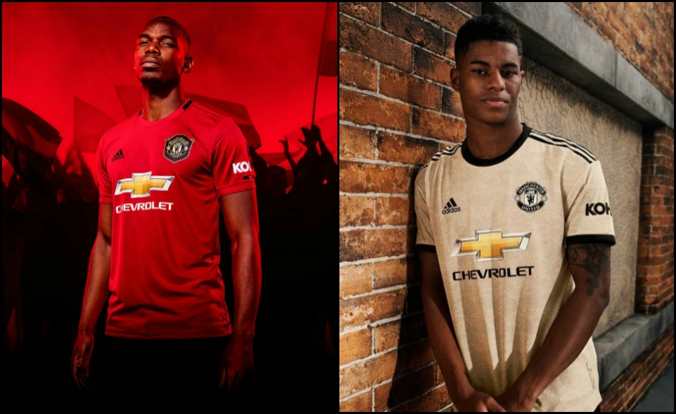 Adidas, le maglie del Manchester United 2019/20