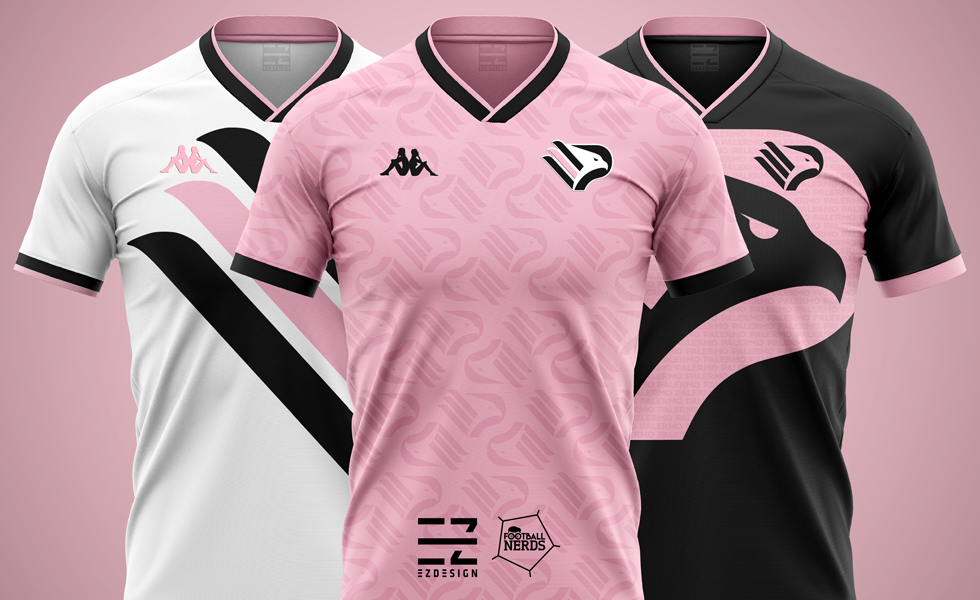 I Concept delle maglie del Palermo 2019 2020 by EZ Design