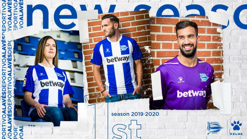 Maglie Liga Spagnola 2019 2020 - Deportivo Alavès - Kelme