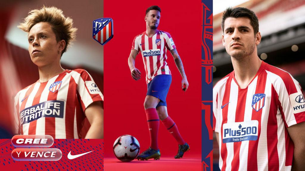 Maglie Liga Spagnola 2019 2020 - Maglie Liga Spagnola 2019 2020 - Atletico Madrid - Nike - 1