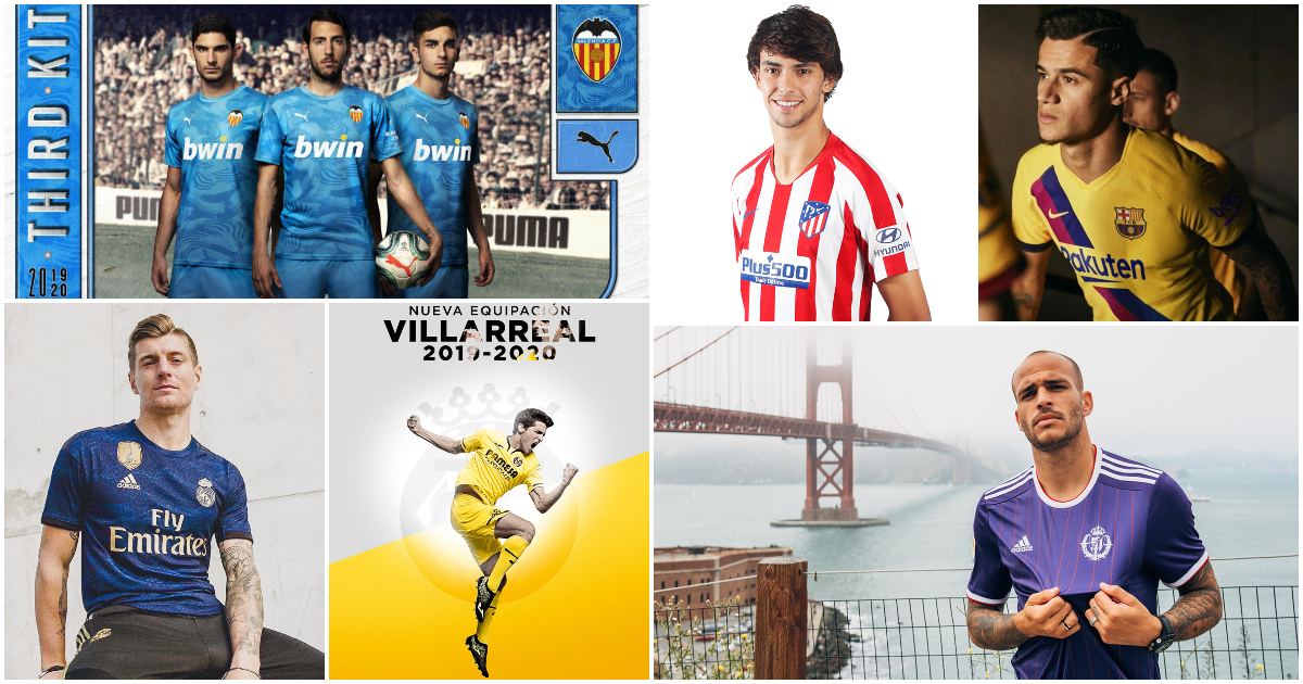 Tutte le maglie della Liga Spagnola 2019 2020