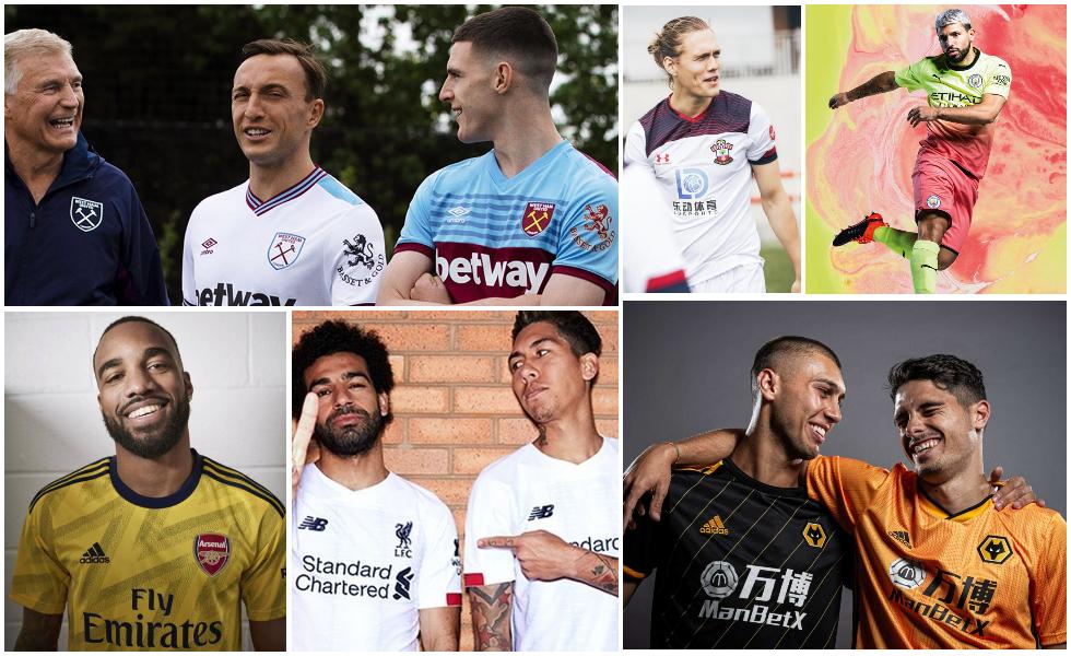 Tutte le maglie della Premier League 2019 2020