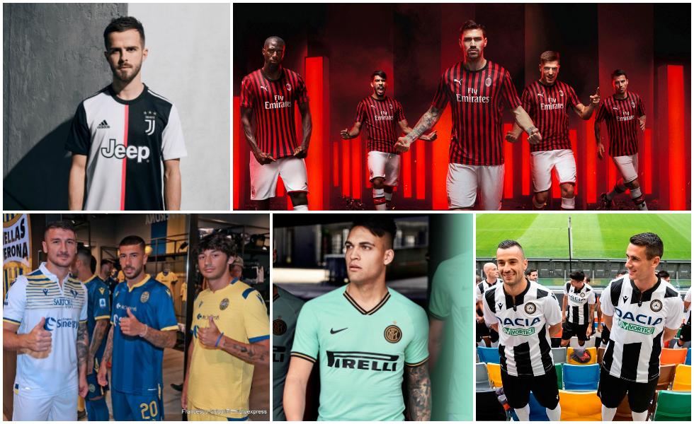 Tutte le maglie della Serie A 2019-2020