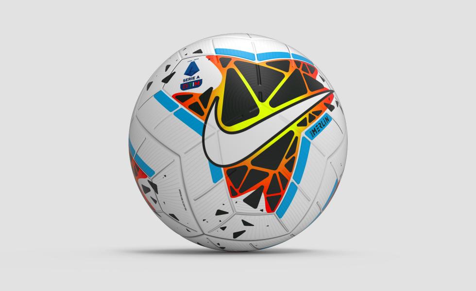Nike Merlin, il nuovo pallone della Serie A 2019/20