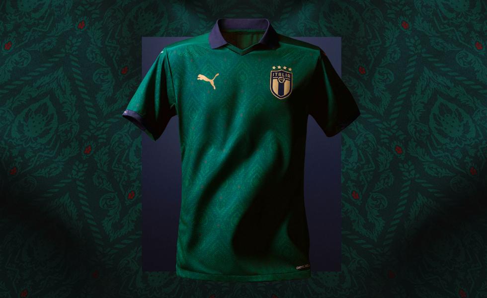 Puma, la maglia Rinascimento dell'Italia è verde