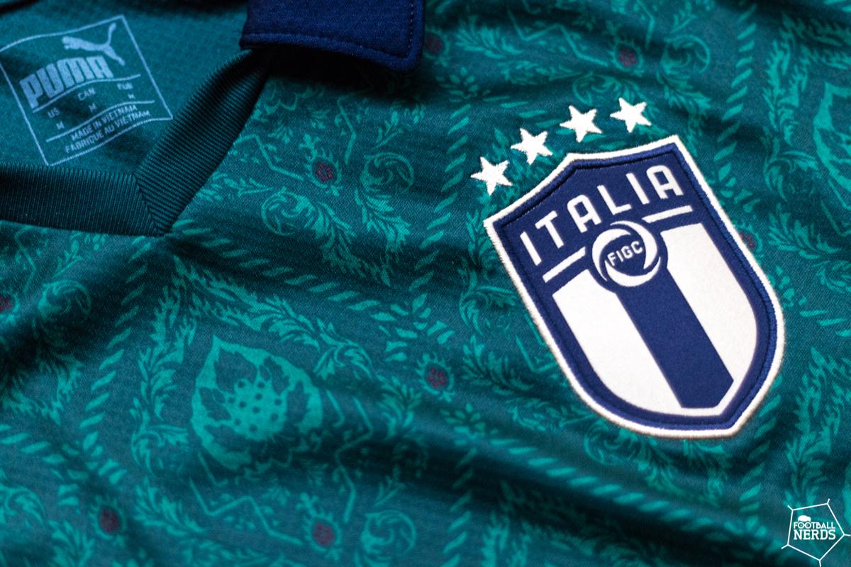 maglia verde della nazionale