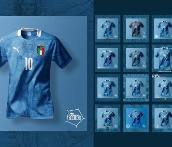 Puma, la maglia dell'Italia per Euro 2020 è qui