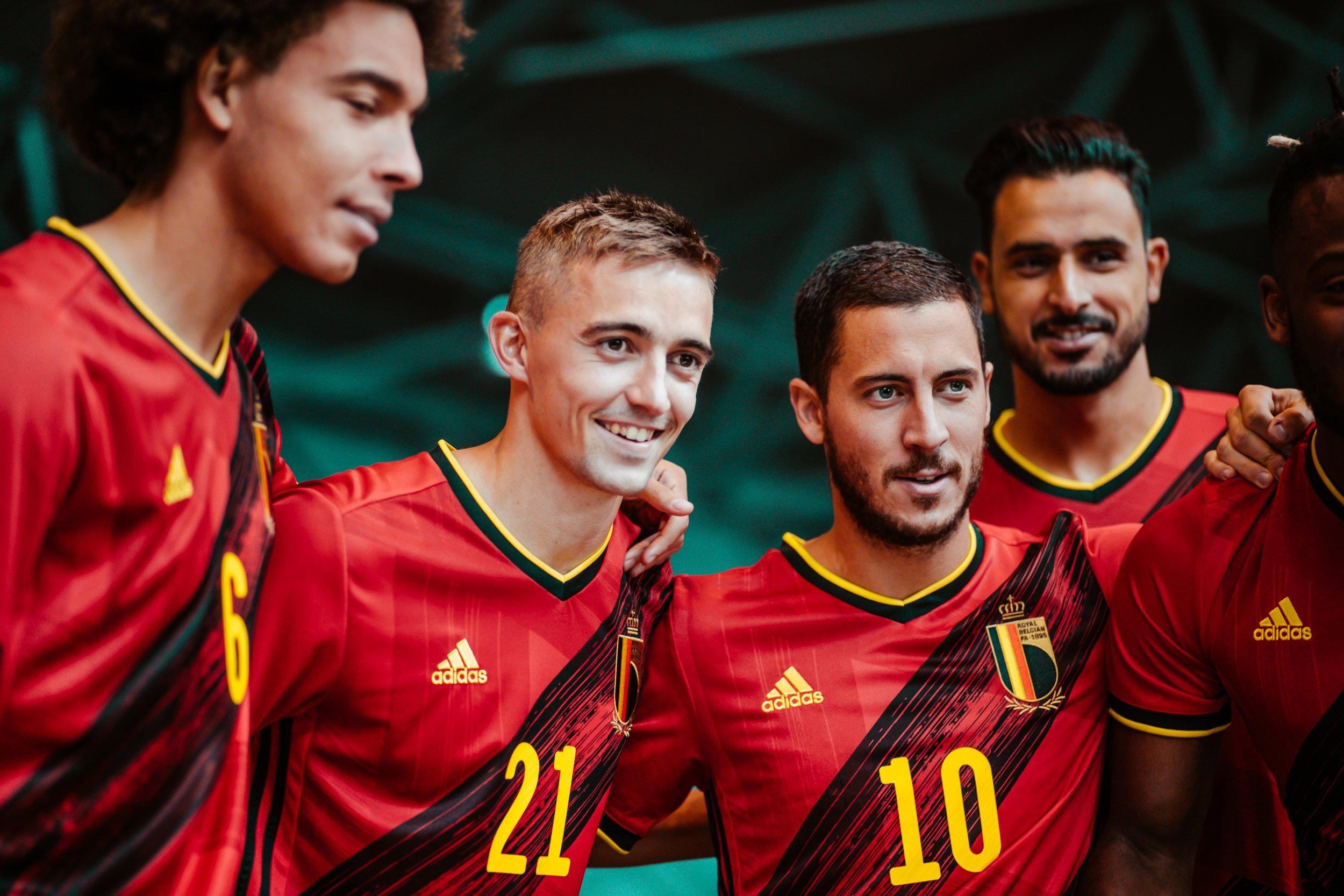 Maglie calcio europei 2020 belgio