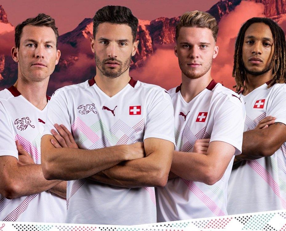 Maglie calcio europei 2020 svizzera