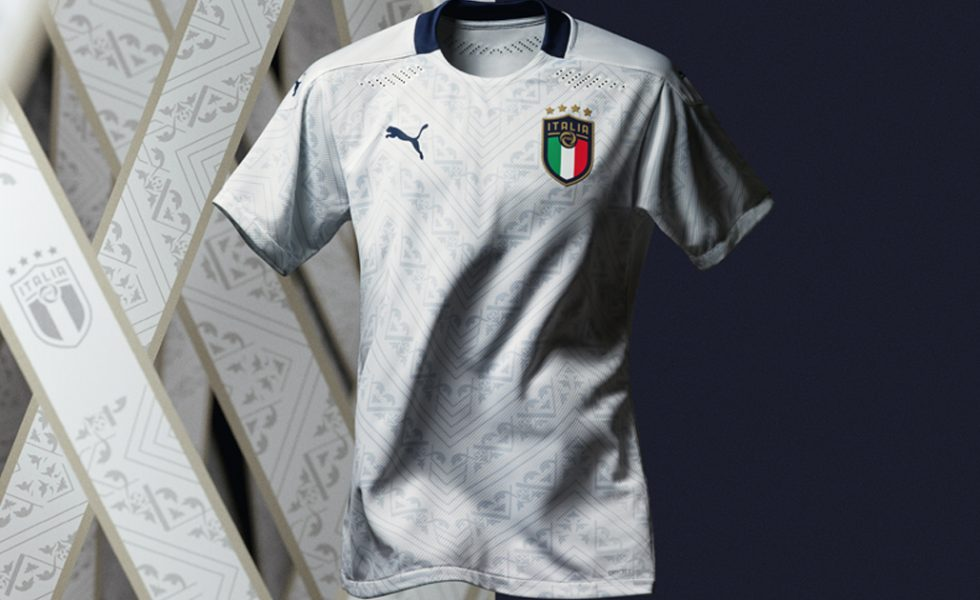 Il Rinascimento Puma continua: la maglia away dell'Italia per Euro 2020