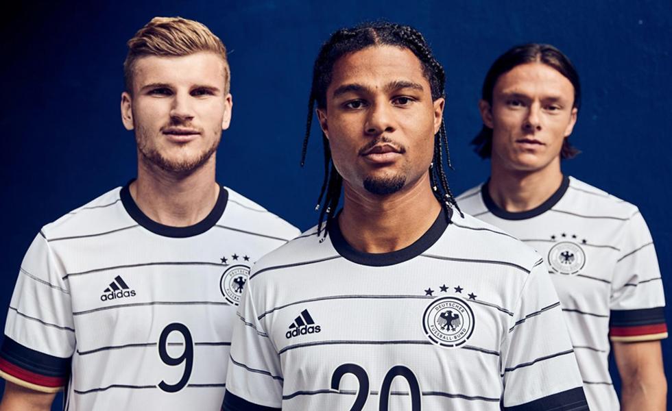 Adidas svela la maglia Home della Germania per EURO 2020
