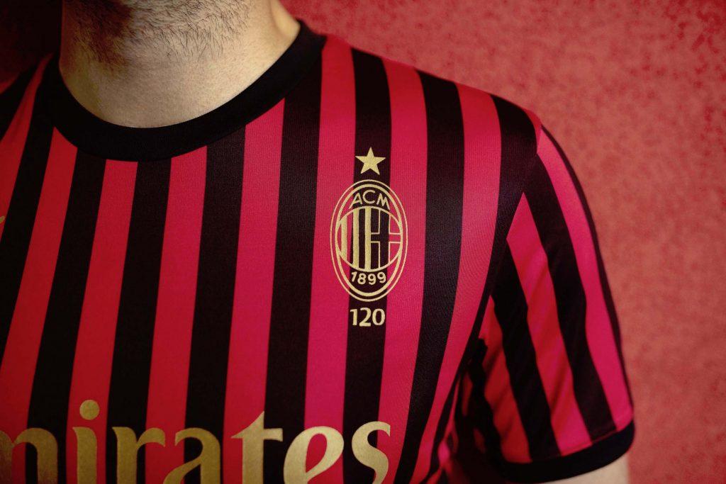 maglia milan 120 anni