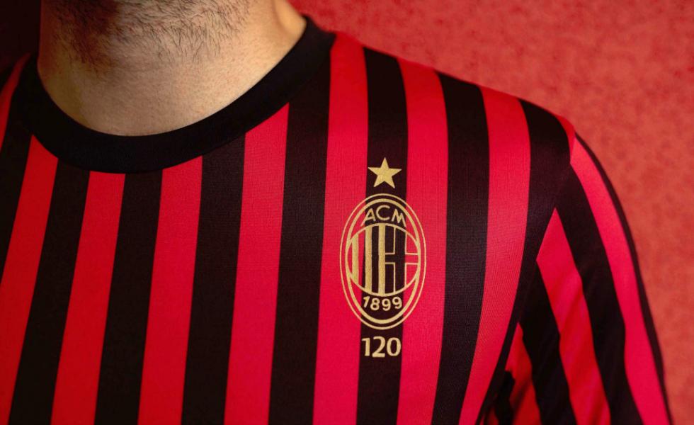 Puma, una maglia speciale per i 120 anni del Milan