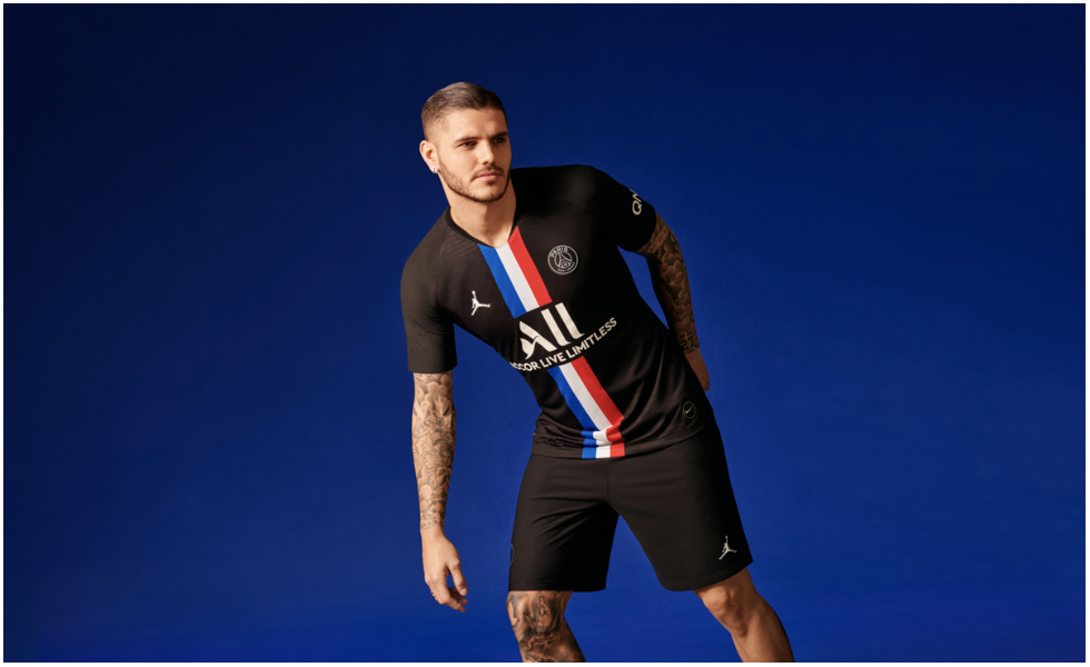 Paris Saint-Germain x Jordan: la quarta maglia 2020