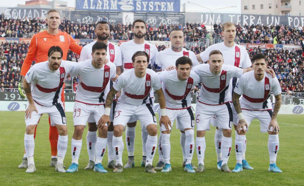Cagliari Calcio, maglia e logo del centenario