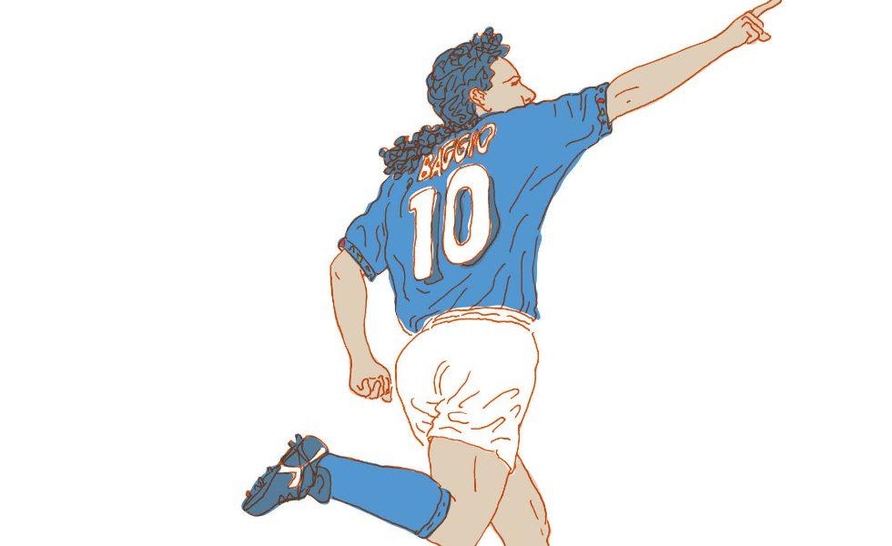 """""""Roberto Baggio. Avevo solo un pensiero"""" per 66thand2nd"""