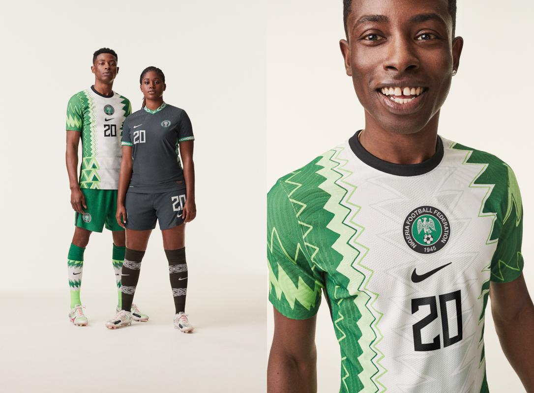 nike maglia nigeria 2020