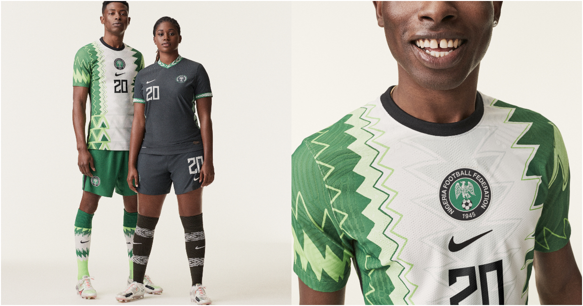 Nike svela la nuova maglia della Nigeria per il 2020