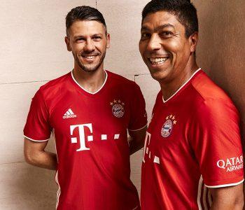 Le nuove maglie home del Bayern Monaco 2020-2021