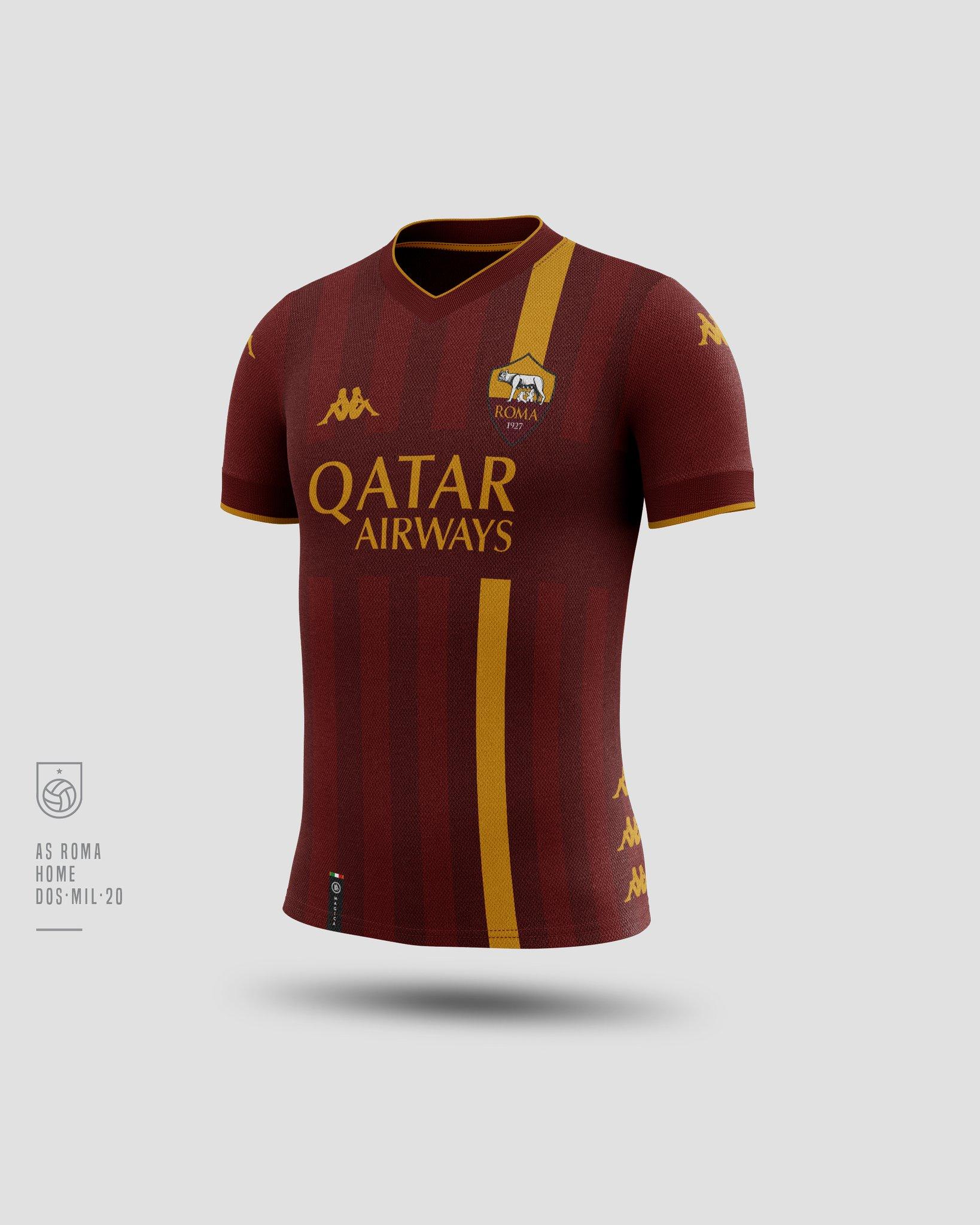 concept kit maglie as roma 2022 – fashionleague 1