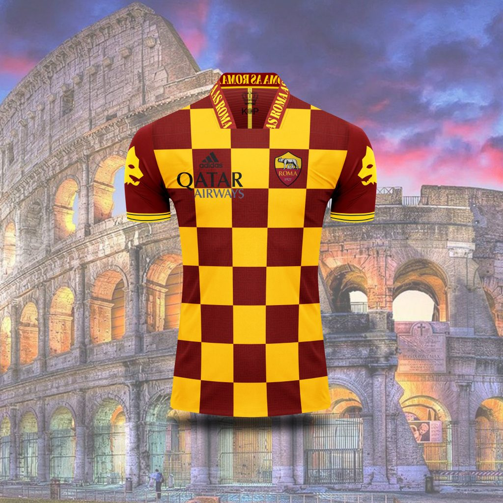 concept kit maglie as roma 2022