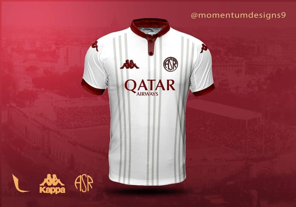 oncept kit maglie as roma 2022