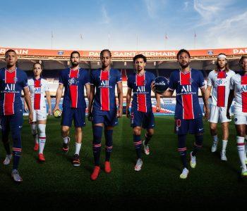 Le nuove maglie Nike del PSG 2020-2021