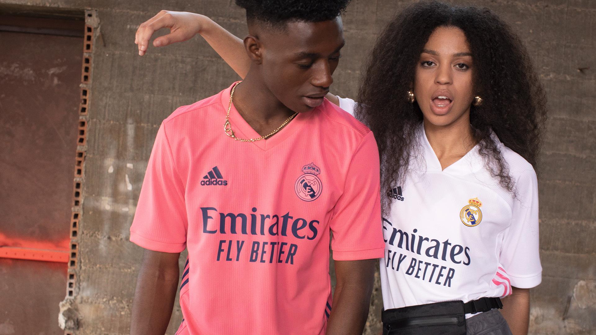 Le nuove maglie del Real Madrid 2020-2021