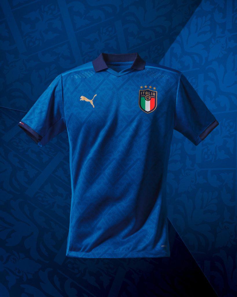 La maglia Home Italia