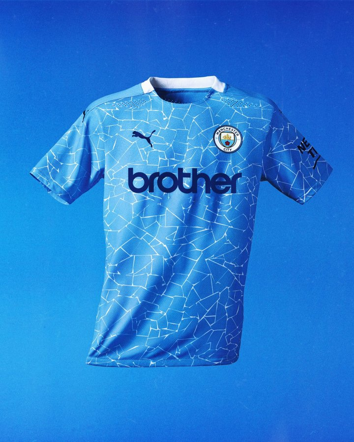 Man City maglie 2020-2021 sponsor vintage Brother