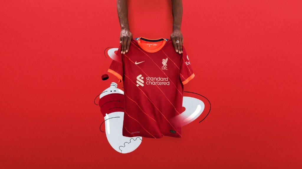 Ecco le nuove maglie Liverpool 2021-2022
