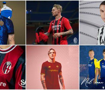 Le prime maglie New Balance dell'AS Roma